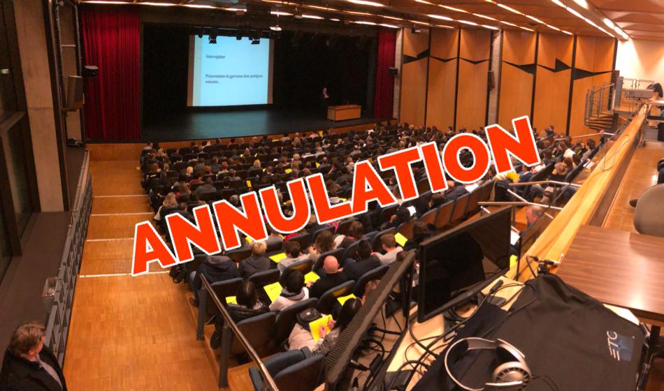 Annulation – Séance d'information aux parents des futurs élèves GY-EC-ECG